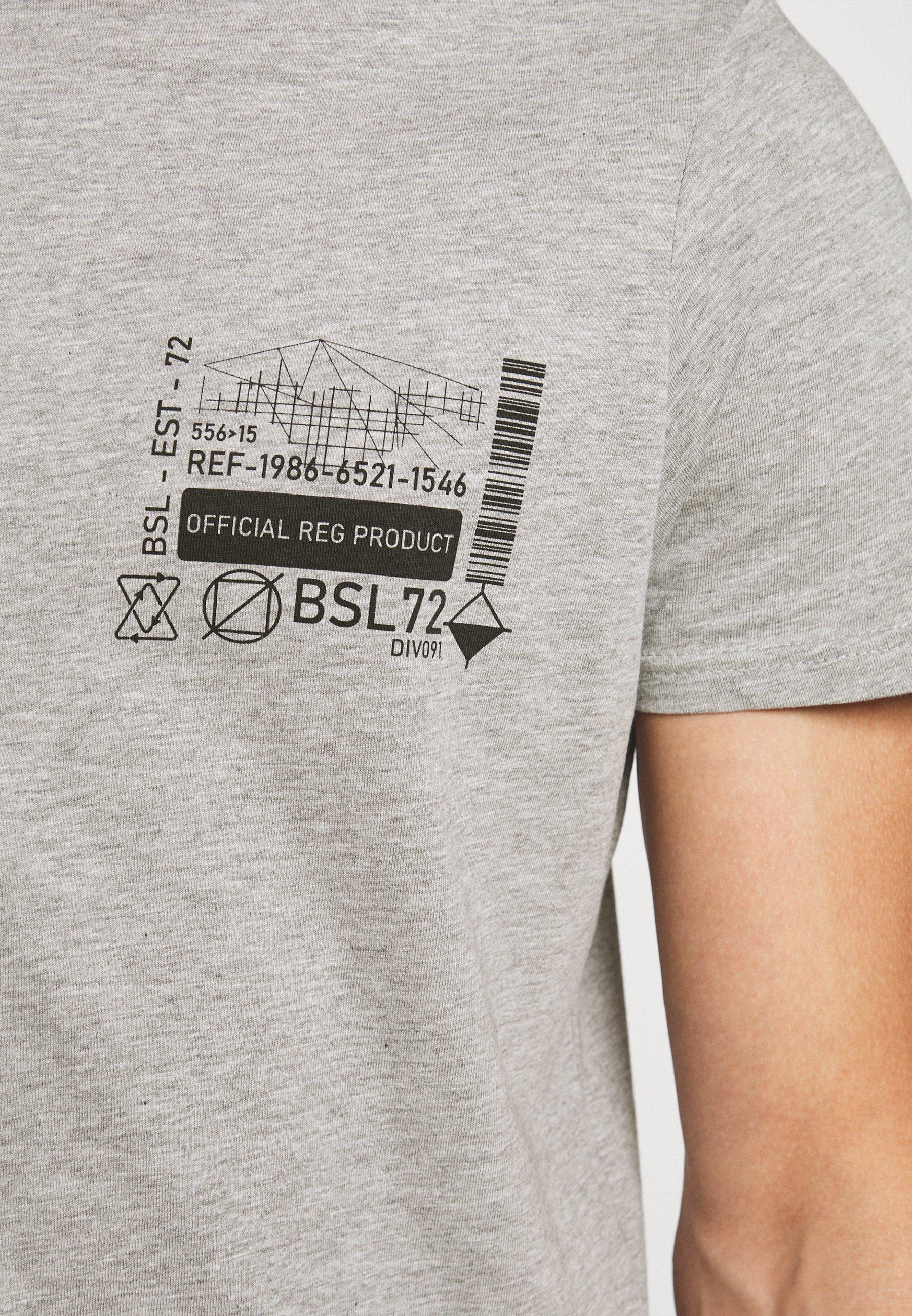 Men SAMWELL - Print T-shirt