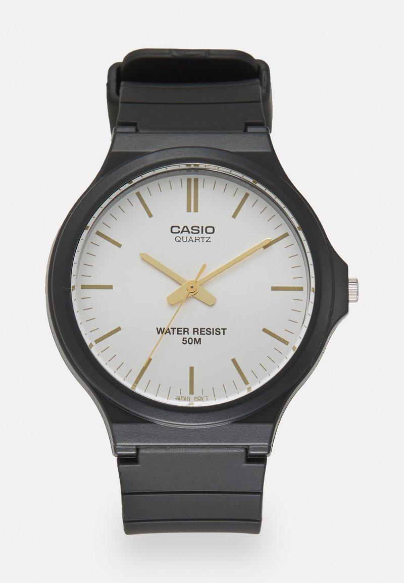 Casio - UNISEX - Watch - black/silver-coloured