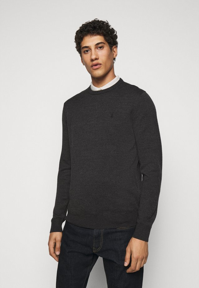 Pullover - black/charcoal