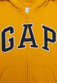 GAP - BOYS LOGO - Mikina na zip - rugby gold - 2