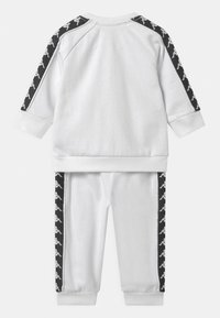 Kappa - VARRIS SET UNISEX - Trainingsanzug - bright white - 1