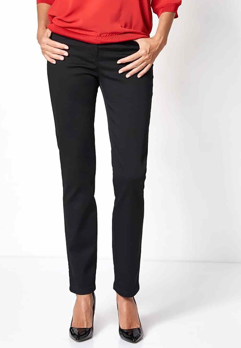 relaxed by TONI - Trousers - black