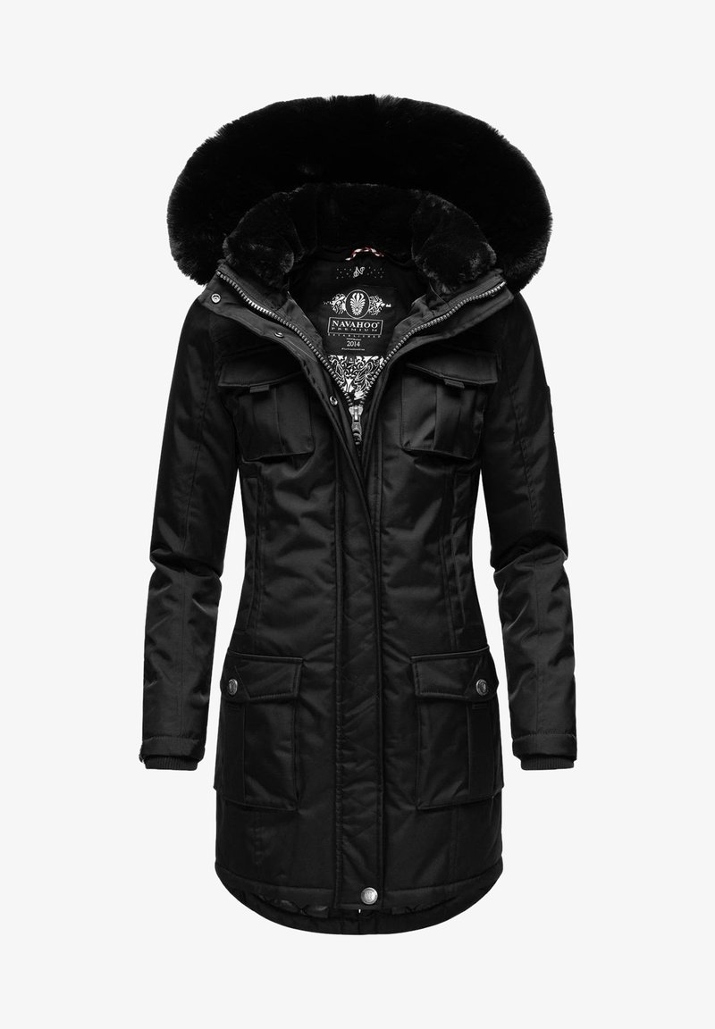 Navahoo - Winter coat - black