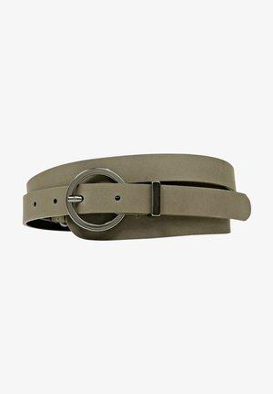 Belt - dark khaki