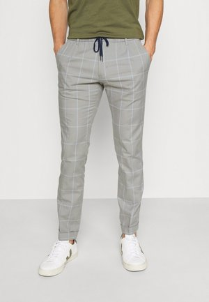 Trousers - antique silver