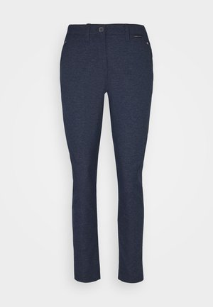 WINTER TRAVEL PANTS WOMEN - Outdoorbroeken - midnight blue