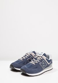 New Balance - Sneakersy niskie - black iris - 2