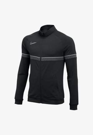 Training jacket - schwarzweissgrau
