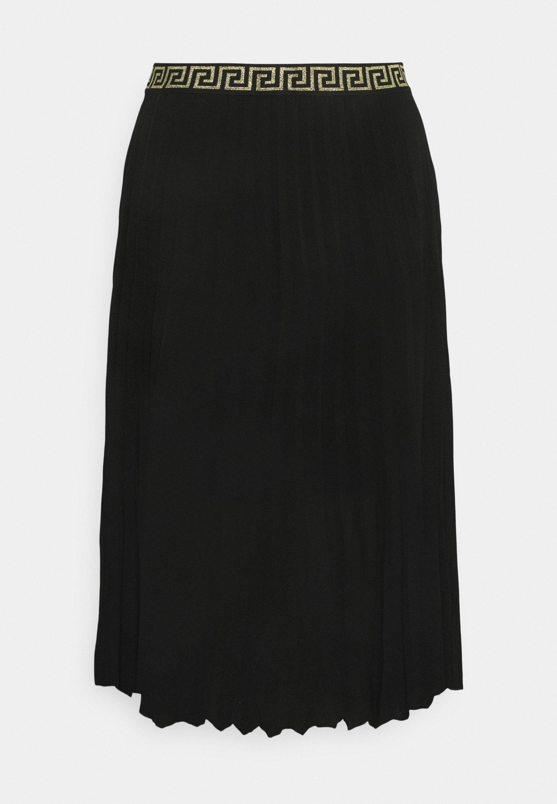 Femme PLEATED SKIRT WITH WAISTBAND - Jupe plissée