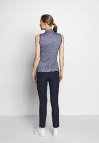 Cross Sportswear - STRETCH PANTS - Kalhoty - navy - 2