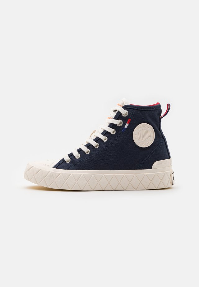 PALLA ACE MID UNISEX - Sneakersy wysokie - mood indigo/chili pepper