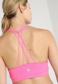 BIDI BADU - LETTY TECH  - Sportovní podprsenky s lehkou oporou - pink - 3