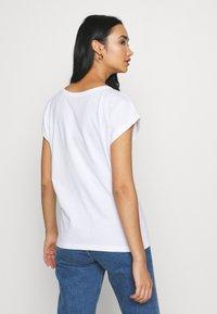 Dedicated - VISBY  YUMMY - Print T-shirt - white - 2