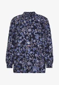 Kaffe - MOLLI HIGH NECK BLOUSE - Bluser - midnight marine - 3