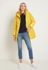TOM TAILOR - WINTERLY PUFFER COAT - Winter coat - california sand yellow - 2