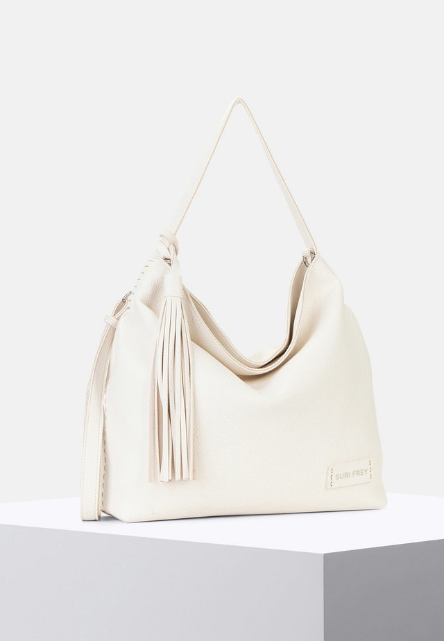 PENNY - Handbag - ecru