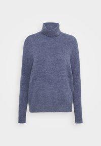 Moss Copenhagen - FEMME ROLL NECK  - Jumper - gray blue melange - 0