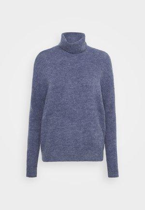 FEMME ROLL NECK  - Jumper - gray blue melange