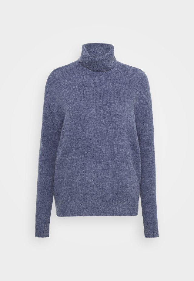 FEMME ROLL NECK  - Jumper - gray blue melange