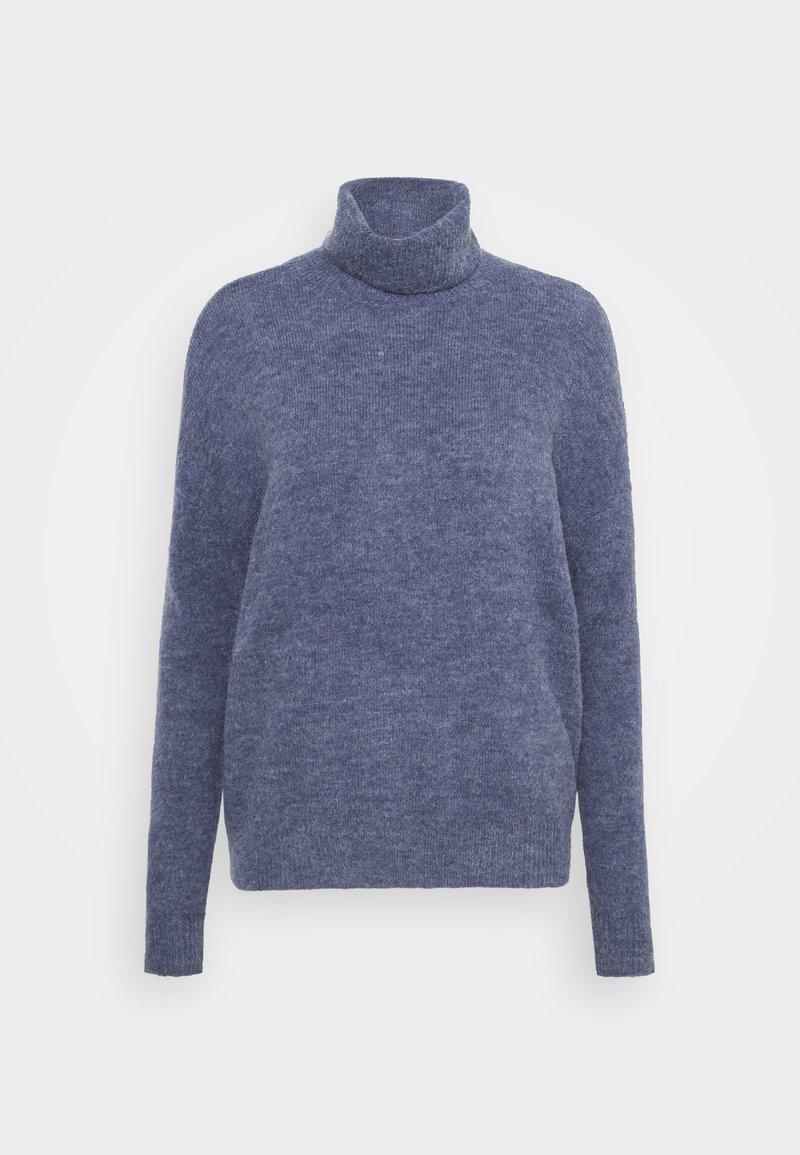 Moss Copenhagen - FEMME ROLL NECK  - Jumper - gray blue melange