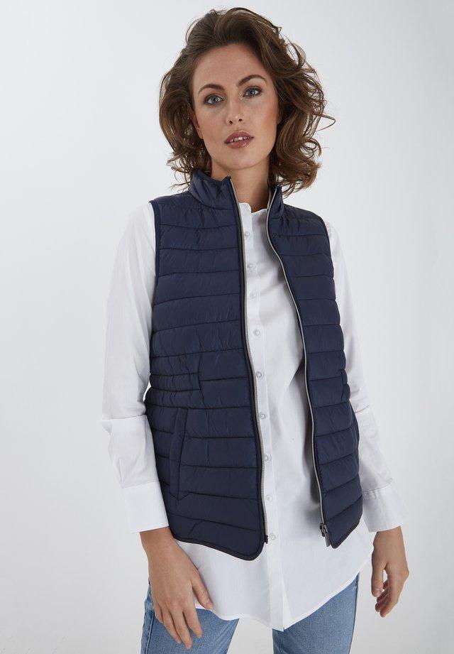 FRPAPADDING - Vest - dark peacoat