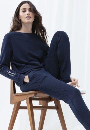 SWEATSHIRT SERIE HOME OFFICE - Pyjama top - yacht blue