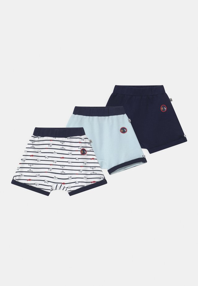OCEAN CHILD 3 PACK - Shortsit - dark blue/white