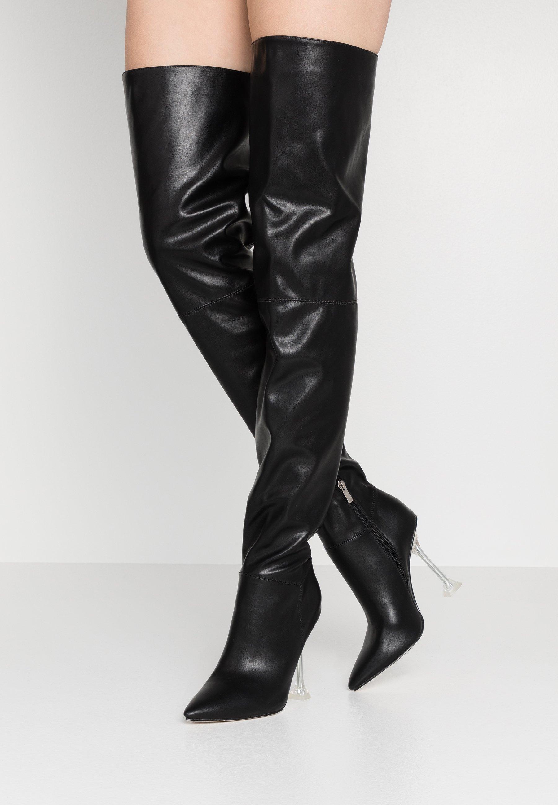 BEBO DELTA - Bottes à talons hauts - black - Bottes femme Dégagement