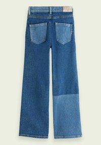 Scotch & Soda - Flared Jeans - mottled blue - 1