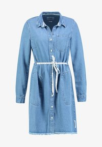 Marc O'Polo DENIM - DRESS COLLAR - Denim dress - melted indigo tencel - 3