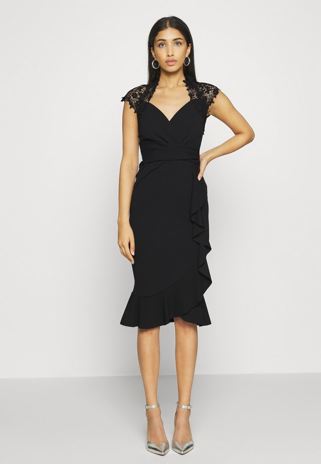LEESHA DRESS - Cocktailjurk - black