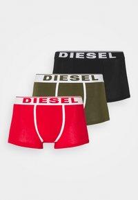 DAMIEN 3 PACK - Pants - red/green/black