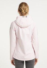 Schmuddelwedda - Waterproof jacket - hellrosa - 2