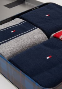 Tommy Hilfiger - SOCK STRIPE GIFTBOX 4 PACK - Chaussettes - dark blue/grey - 2