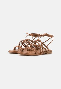 Stuart Weitzman - CALYPSO LACE UP - Sandals - tan - 2