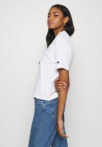 Champion Reverse Weave - Print T-shirt - white - 3