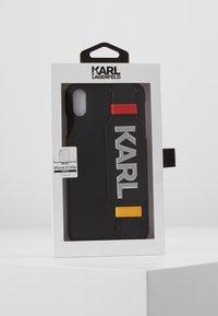 KARL LAGERFELD - CASE WITH STRAP MAX - Étui à portable - black - 5