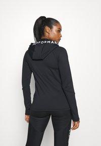 Peak Performance - RIDER ZIP HOOD - Fleece jacket - black - 2