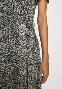 Soaked in Luxury - LOURDES WRAP DRESS - Day dress - beige - 3