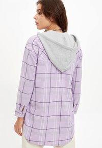 DeFacto - Button-down blouse - purple - 1
