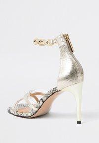 River Island - High heeled sandals - yellow - 3