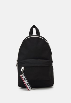 LOGO TAPE MINI BACKPACK - Mochila - black