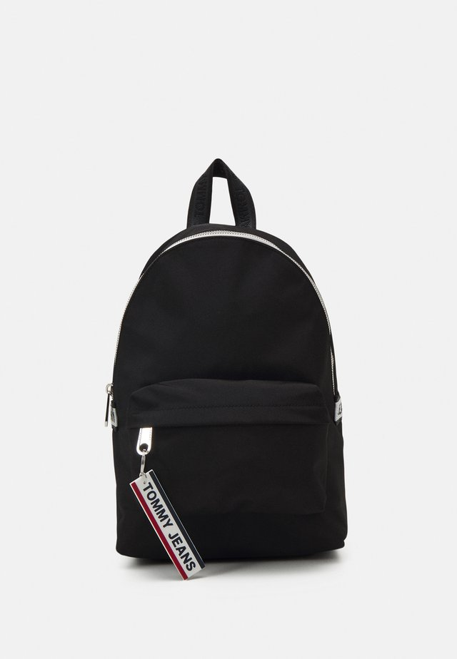LOGO TAPE MINI BACKPACK - Batoh - black