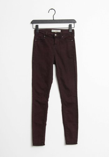 Jeans Skinny Fit - red