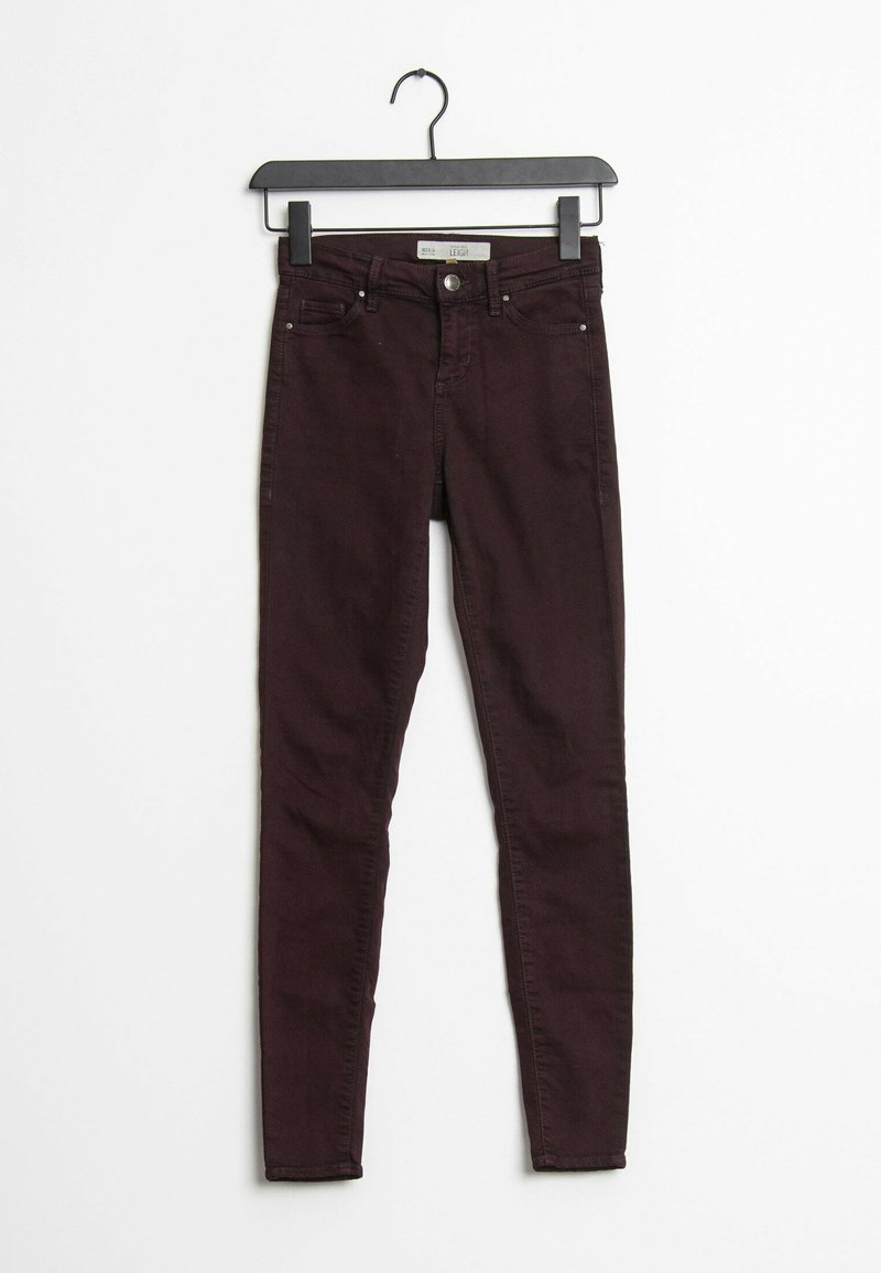 Topshop - Jeans Skinny Fit - red