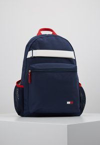 Tommy Hilfiger - KIDS FLAG BACKPACK - Zaino - blue - 0