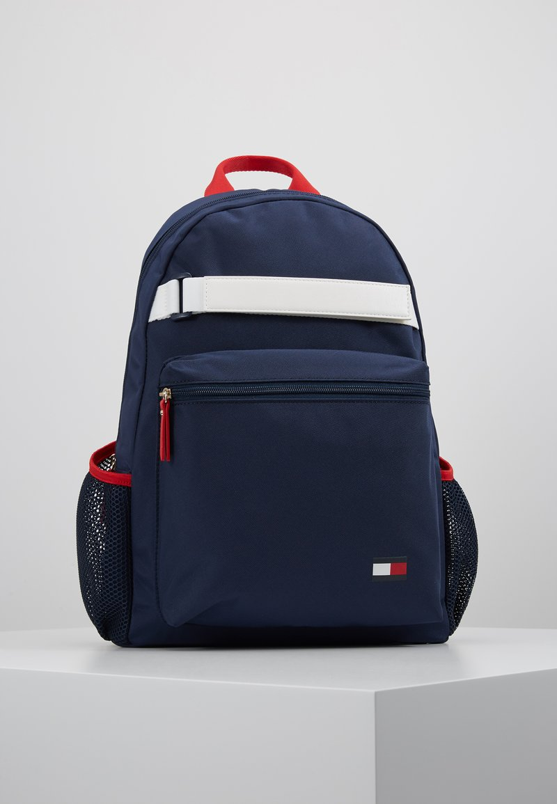 Tommy Hilfiger - KIDS FLAG BACKPACK - Mochila - blue