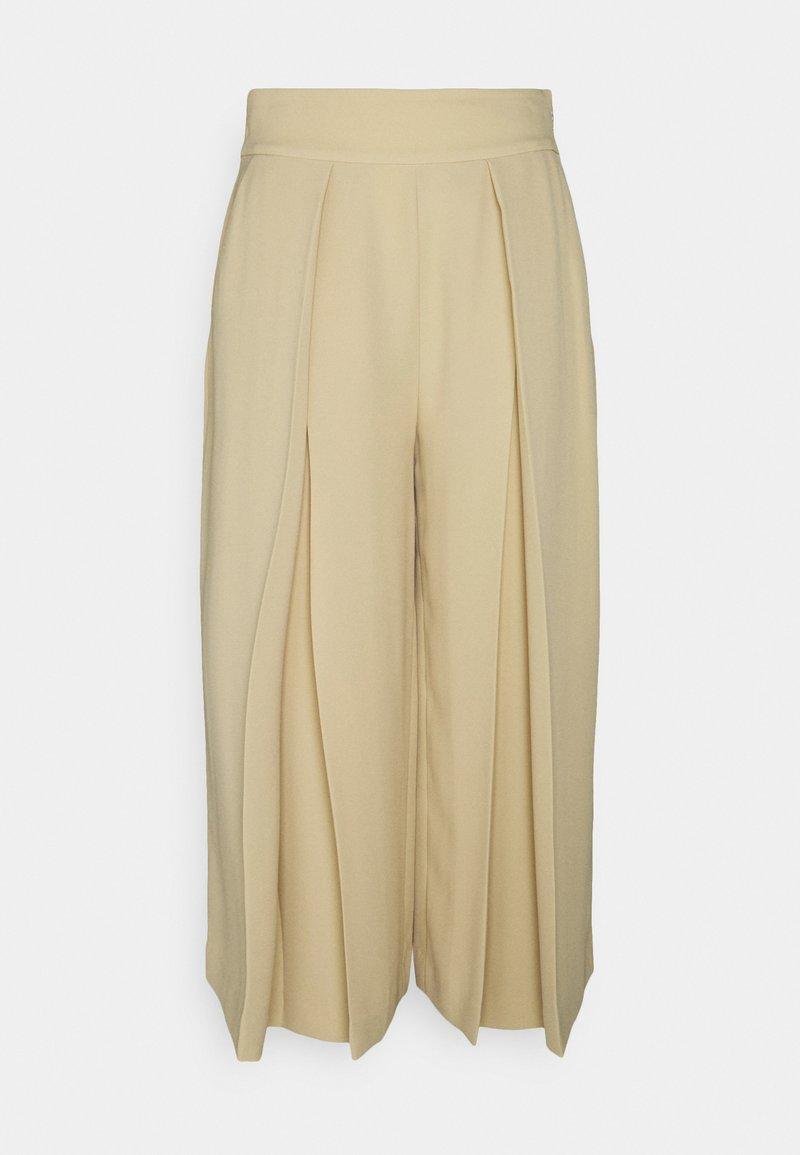 Lauren Ralph Lauren - TRIPLE GEORGETTE PANT - Trousers - tan