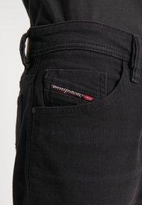 Diesel - THOSHORT - Szorty jeansowe - black - 6