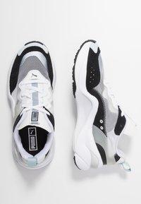 Puma - RISE - Sneakers - black/white - 3